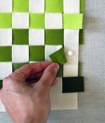 Como hacer un mantel individual con fieltro (5)