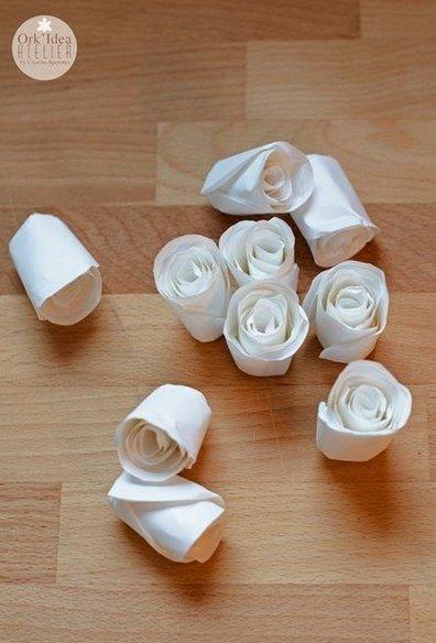 Como hacer un ramo de novia con flores de papel - Como hacer ramos de flores ...