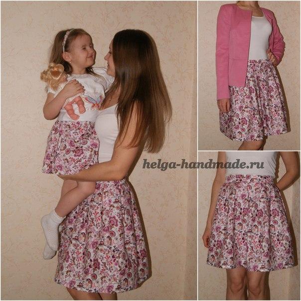 Como hacer una falda super facil (1)