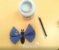 Como hacer una mariposa de papel paso a paso