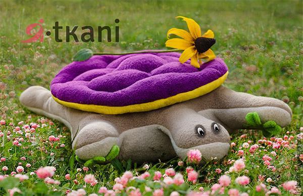 Como hacer una tortuga de peluche (1)