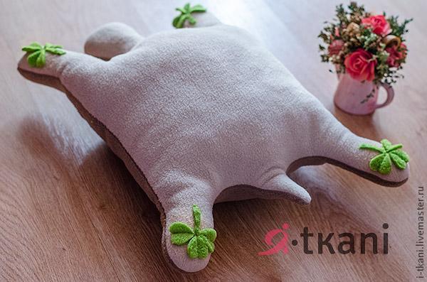 Como hacer una tortuga de peluche (5)