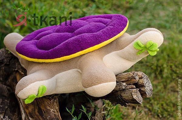 Como hacer una tortuga de peluche (8)