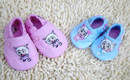 Como hacer unas pantuflas para bebe paso a paso (1)