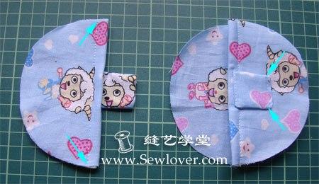 Como hacer unas pantuflas para bebe paso a paso (4)