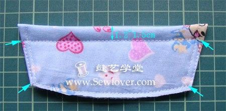 Como hacer unas pantuflas para bebe paso a paso (6)