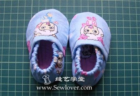 Como hacer unas pantuflas para bebe paso a paso (9)