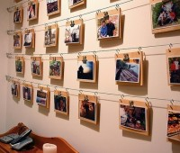 Ideas para decorar paredes con fotografias