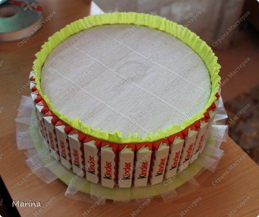 Pastel de kinder como hacer (4)