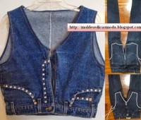 Reciclar jean ideas faciles