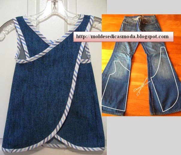 Reciclar jean ideas faciles (5)