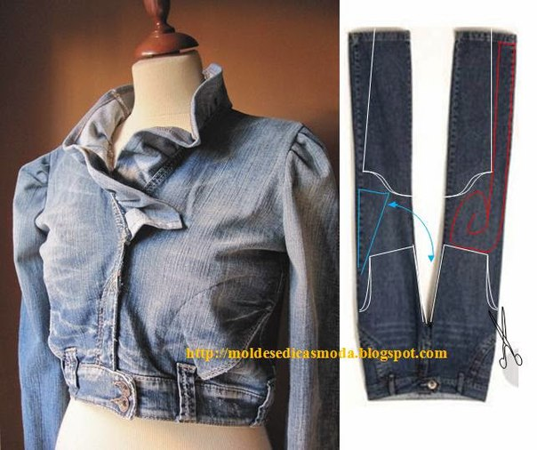 Reciclar jean ideas faciles (7)