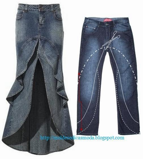 Reciclar jean ideas faciles (8)