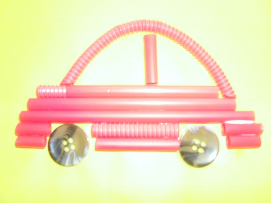 manualidades para el kinder carros con popotes02