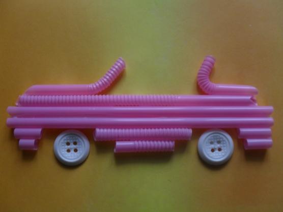 manualidades para el kinder carros con popotes04
