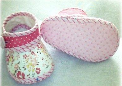 moldes para hacer botines para niña paso a paso02