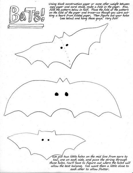 moldes para hacer murcielagos en fieltro para halloween07