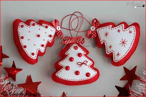 6 ideas para hacer adornos navideos caseros originales5 - Como Hacer Adornos De Navidad