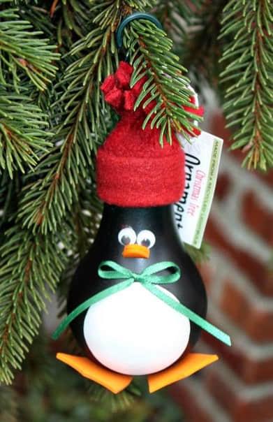 Como decorar bombillas navideñas01
