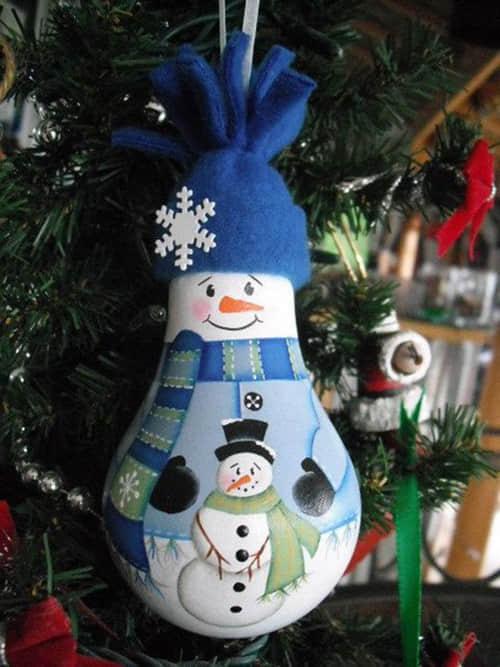 Como decorar bombillas navideñas07