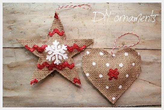 Como hacer adornos navidenos con yute05