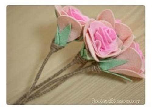 Como hacer flores de fieltro paso a paso06