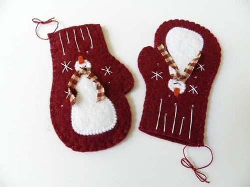 Molde para hacer manoplas de fieltro navideñas07
