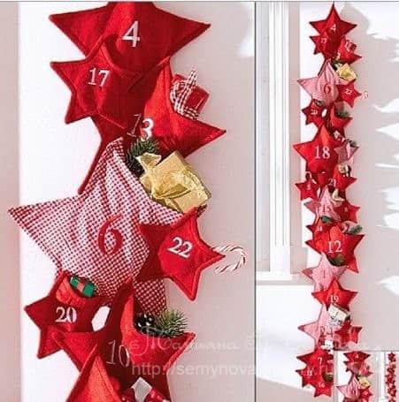 Moldes estrellas navideñas para imprimir gratis05
