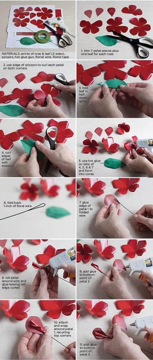 Moldes flores de papel para imprimir gratis06
