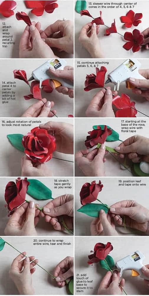 Moldes flores de papel para imprimir gratis07