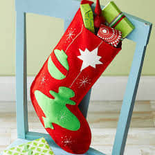 Moldes para hacer botas navideñas de fieltro gratis12
