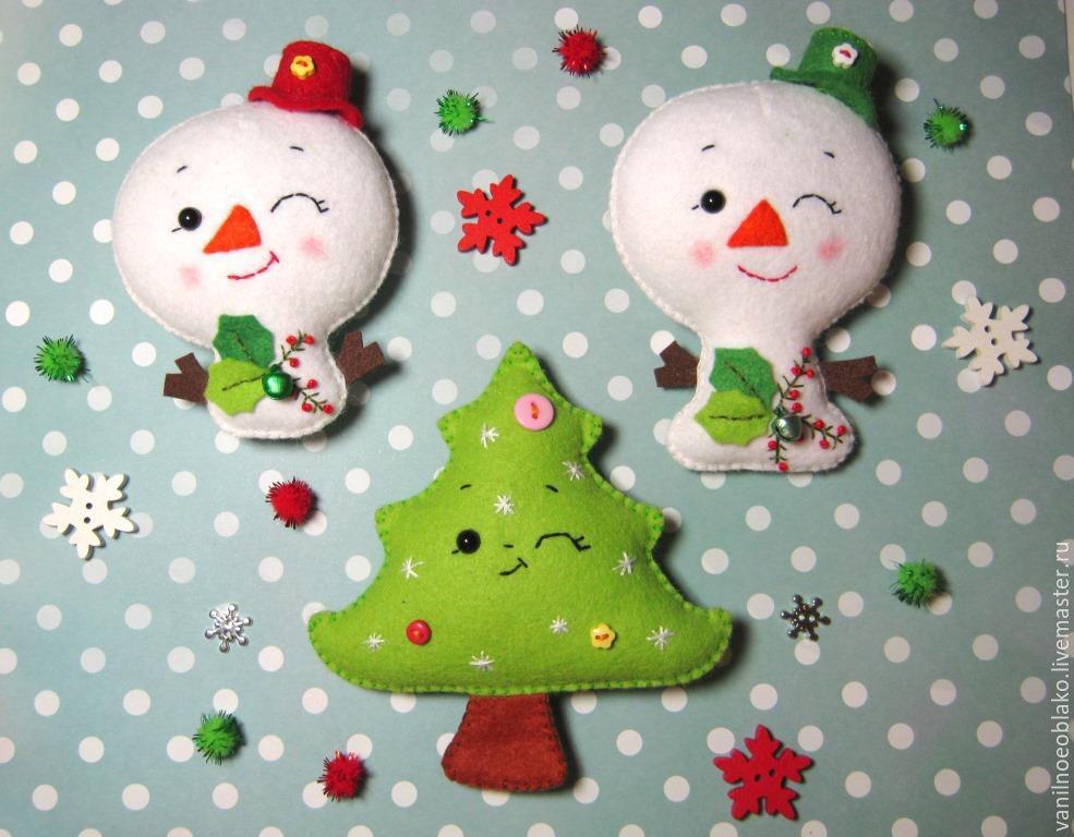Moldes para hacer muñecos de nieve en fieltro04