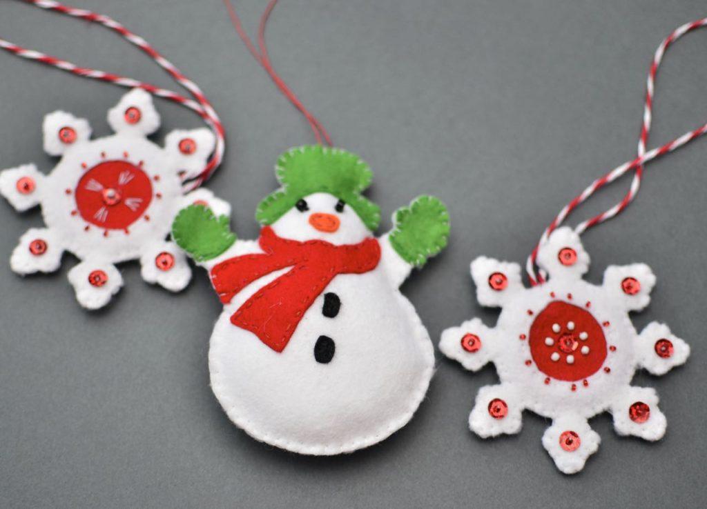 Moldes para hacer muñecos de nieve en fieltro05