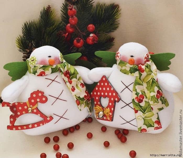 Moldes para hacer muñecos de nieve originales01