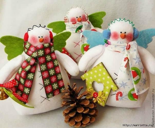 Moldes para hacer muñecos de nieve originales05