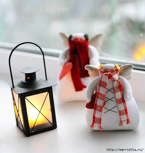 Moldes para hacer muñecos de nieve originales06