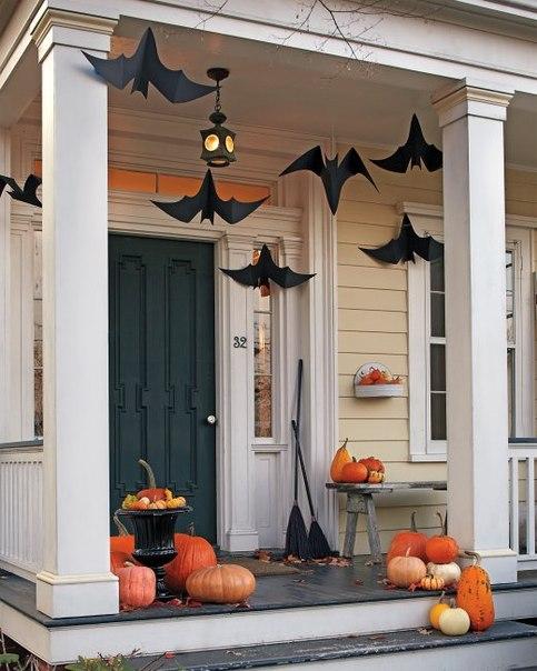 Murciélagos de papel para Halloween para imprimir2