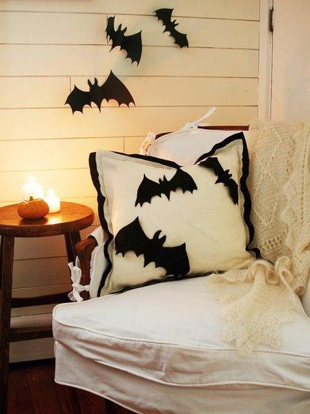 Murciélagos de papel para Halloween para imprimir4