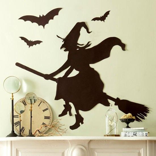 Murciélagos de papel para Halloween para imprimir8