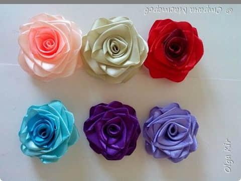 Paso a paso para hacer flores con listones03