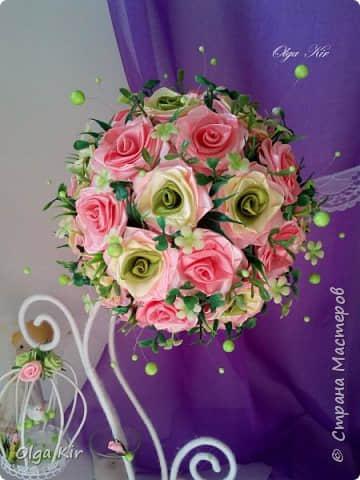 Paso a paso para hacer flores con listones06