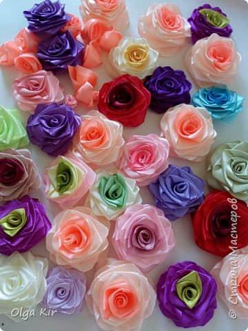 Paso a paso para hacer flores con listones07
