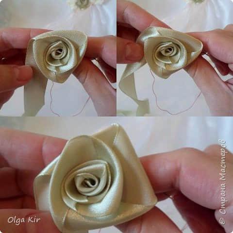 Paso a paso para hacer flores con listones08