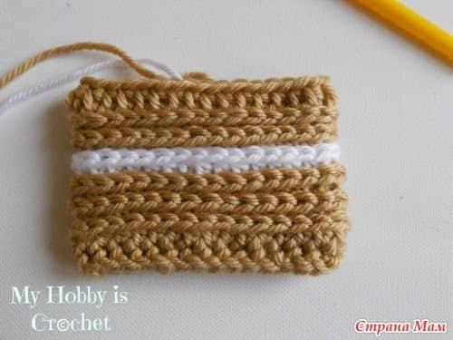 Patron botines tejidos a crochet para bebe08