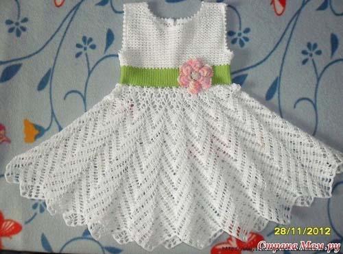 Patron gratis para hacer un vestido a crochet para niña04