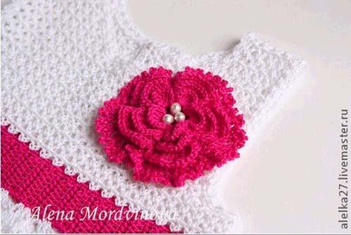 Patron gratis para hacer un vestido a crochet para niña07