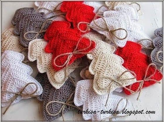 Navidad En Crochet. Cool Cmo Tejer Anteles De Navidad Crochet With ...