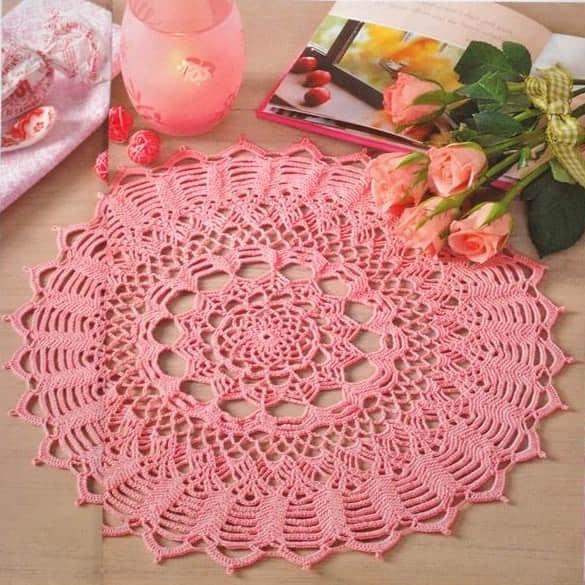 Patron para hacer manteles redondos a crochet01