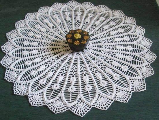 Patron para hacer manteles redondos a crochet04