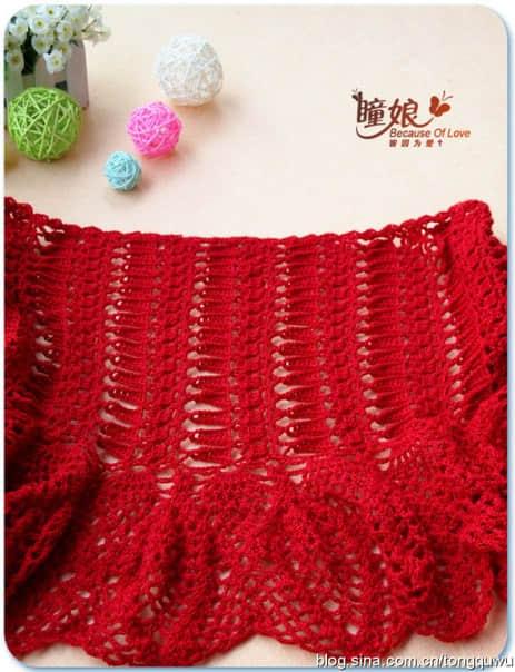 Patron para hacer un chal tejido a crochet para invierno02
